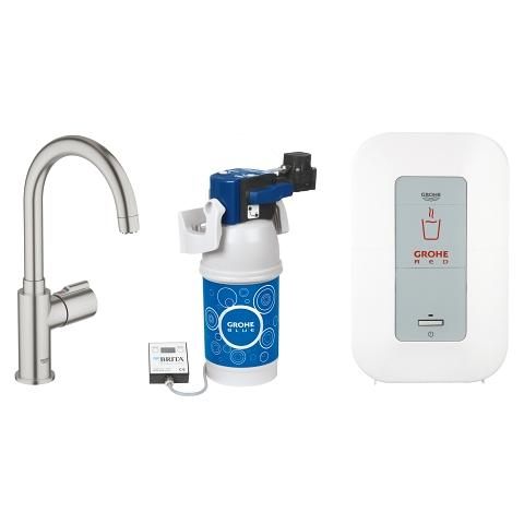 GROHE Red Mono Tappventil och Single-kokare (4 l)