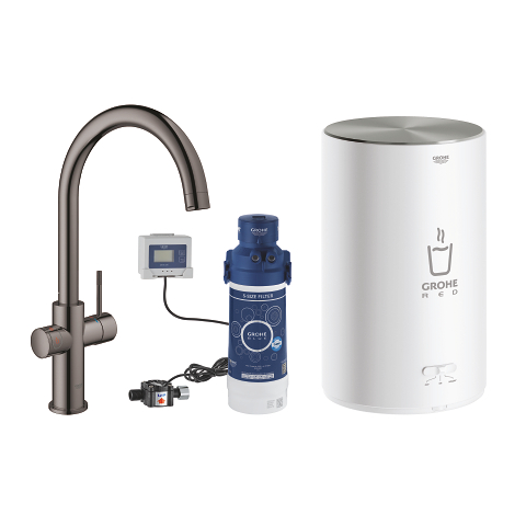GROHE Red Duo Faucet and M size boiler