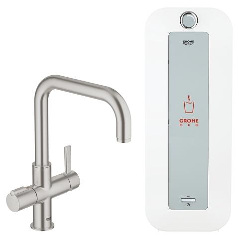 GROHE Red Duo Faucet and combi-boiler (8 liter)