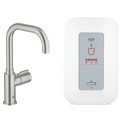 GROHE Red Mono Pillar tap and single-boiler (4 liters)