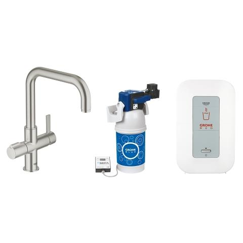 GROHE Red Duo Armatur och Single-kokare (4 l)