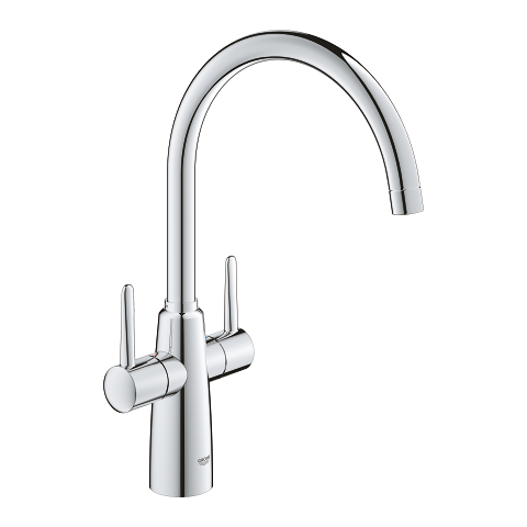 Two handle sink mixer 1/2″