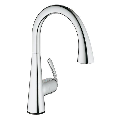 Zedra Touch Electronic single-lever sink mixer 1/2″