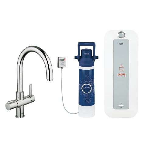 Grohe Red Combi Boiler.Grohe Red Duo Faucet And Combi Boiler 8 Liter Grohe