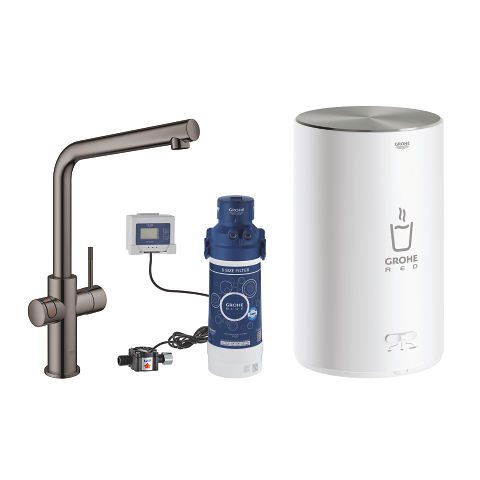 Faucet and M size boiler