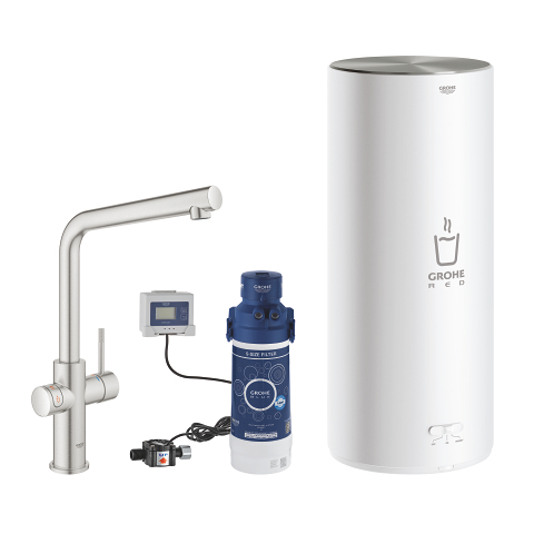 GROHE Red Duo Tap and L Size Boiler