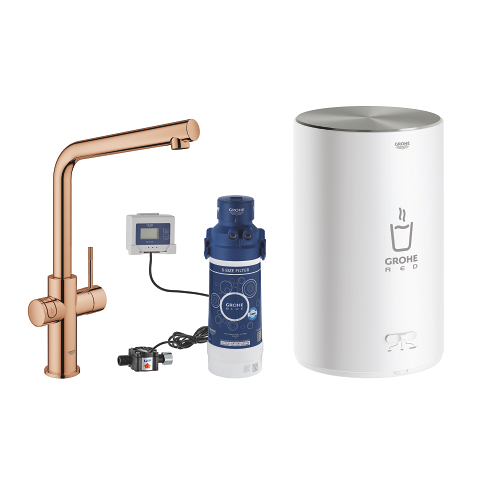 GROHE Red Duo Tap and M Size Boiler