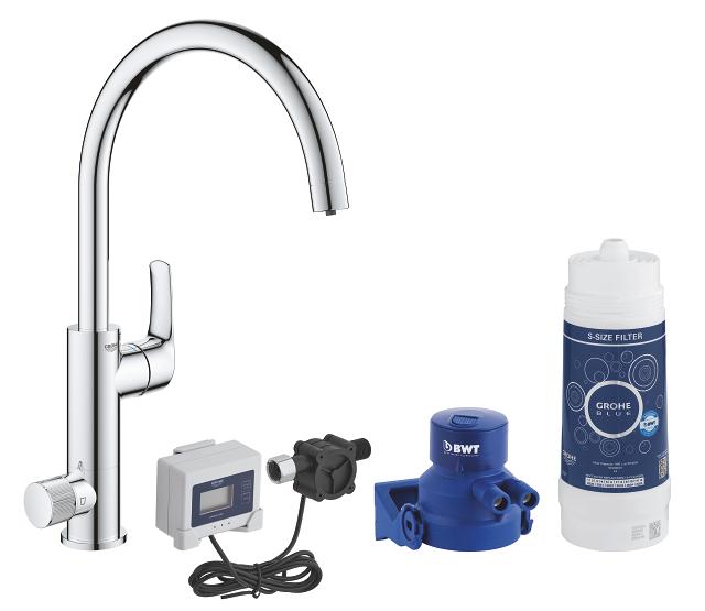GROHE Blue Pure Eurosmart Starter kit con installazione