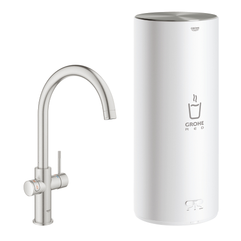 GROHE Red Duo Robinet et chauffe-eau taille L