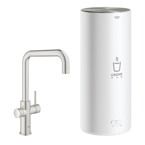 GROHE Red Duo Faucet and L size boiler