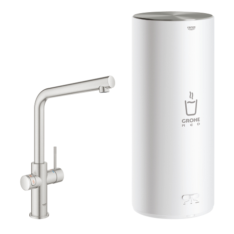 GROHE Red Duo Смесител с L- размер бойлер
