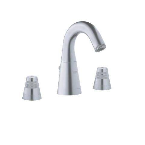 GROHE F1 3-hole basin mixer