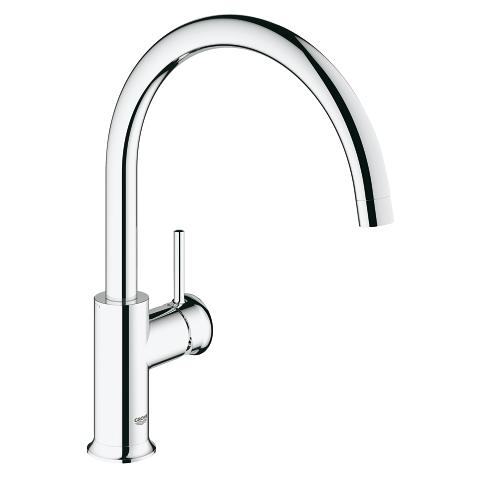 GROHE BauClassic Single-lever sink mixer 1/2″