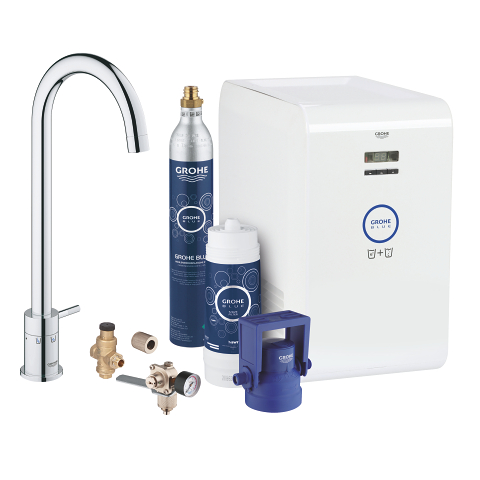 GROHE Blue Mono Chilled and Sparkling Startovní sada