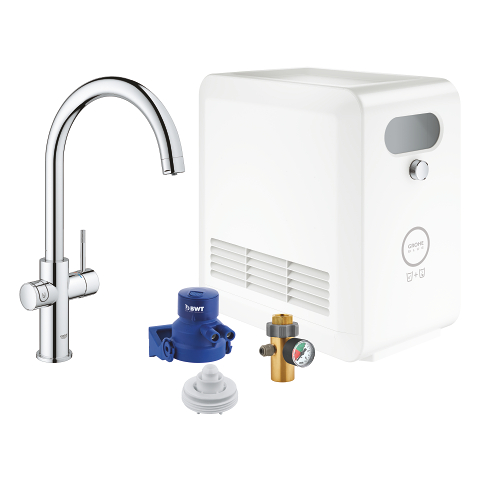 GROHE Blue Professional C-spout kit