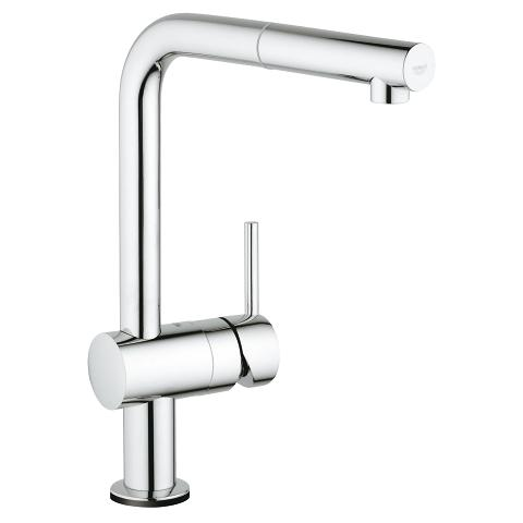 Electronic single-lever sink mixer 1/2″