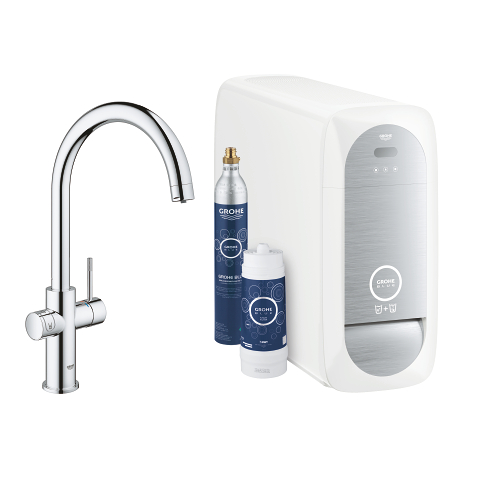 GROHE Blue Home Starter kit caño en C