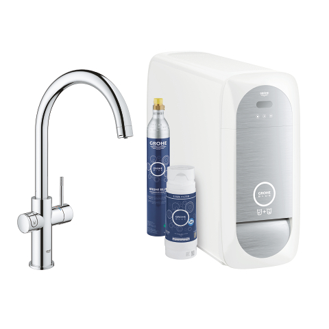 GROHE Blue Home C-uitloop Starterkit