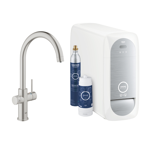 GROHE Blue Home C-spout Starter kit
