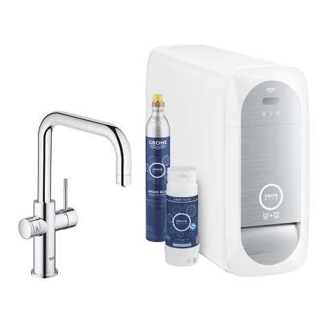 GROHE Blue Home U-Auslauf Starter Kit