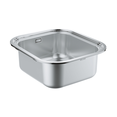 Big Bowl stainless steel sink without drainer
