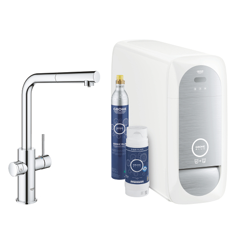 GROHE Blue Home Starter kit caño en L