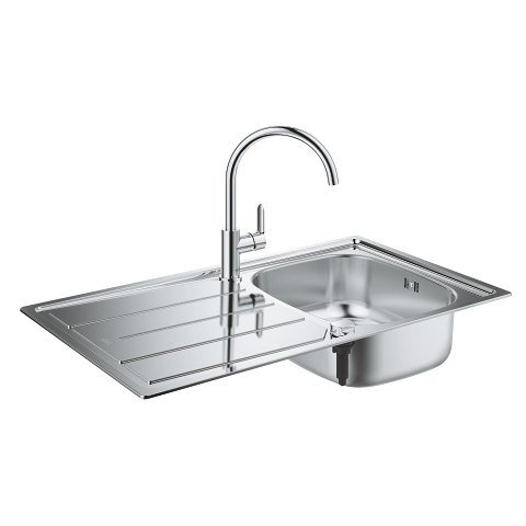 Bau Kitchen sink and tap bundle