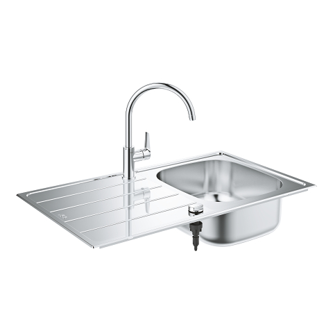 Kitchen sink and tap bundle