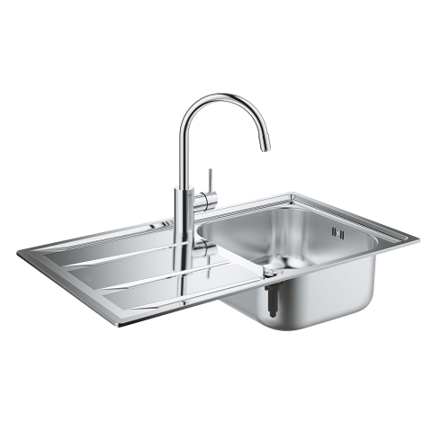 Concetto Kitchen sink and tap bundle