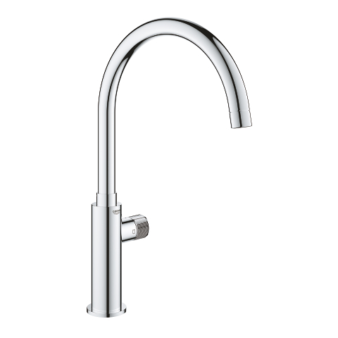 Mono faucet with filter function
