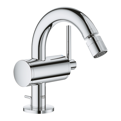 Atrio Single-lever bidet mixer M-Size