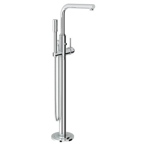 Single-lever bath mixer 1/2″, floor mounted