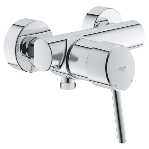 Concetto Single-lever shower mixer 1/2″