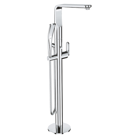 Veris Single-lever bath mixer 1/2″, floor mounted