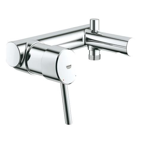 Concetto Single-lever bath mixer, ¾″