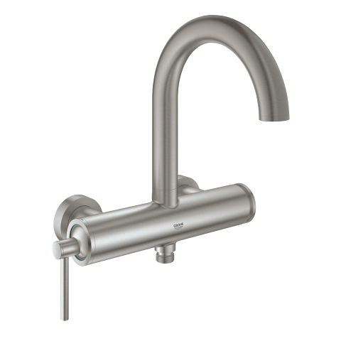 Single-lever bath mixer 1/2″