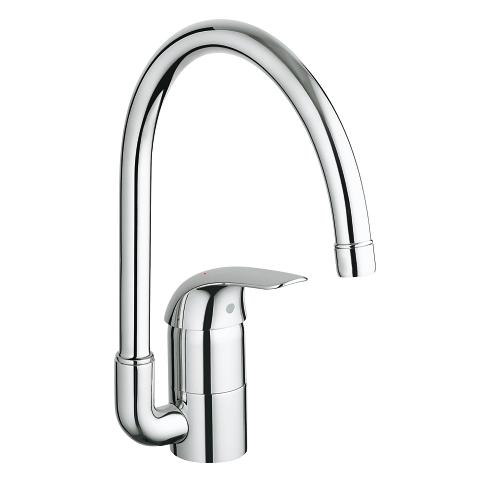 Euroeco Single-lever sink mixer 1/2″