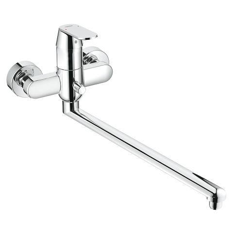 Solid basin mixer, 1/2″