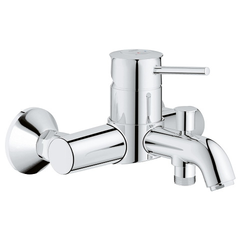 GROHE BauClassic Single-lever bath/shower mixer