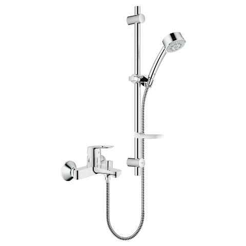 BauLoop Single-lever bath/shower mixer