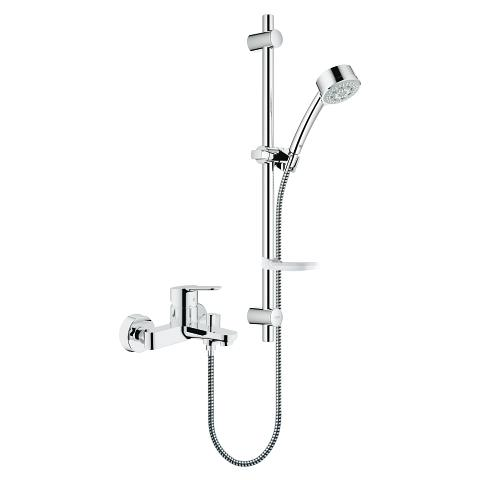 BauEdge Single-lever bath/shower mixer