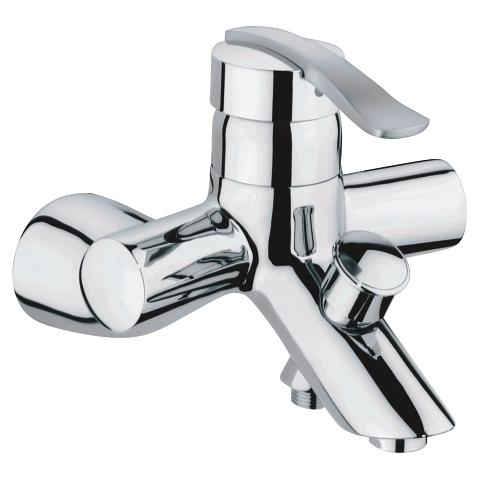 Ectos Single-lever bath/shower mixer 1/2″