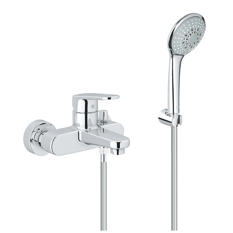 Europlus Single-lever bath/shower mixer 1/2″