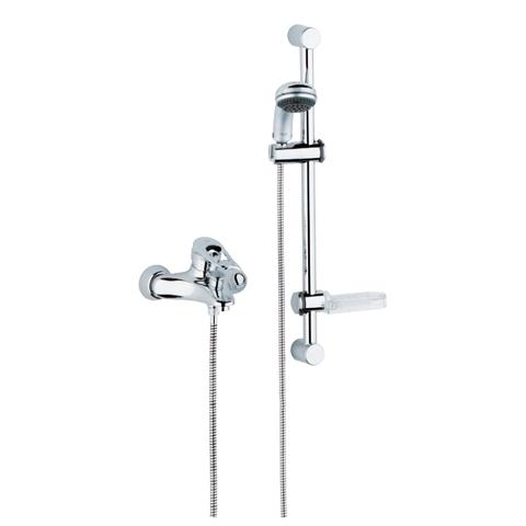 Europlus Single-lever bath/shower mixer