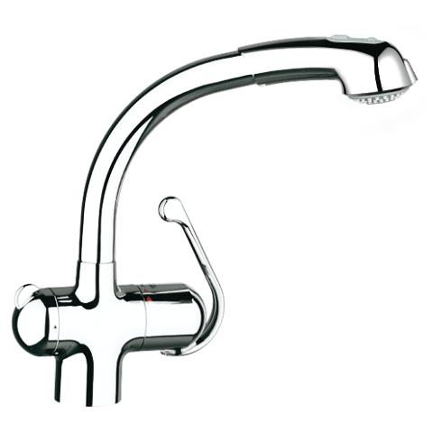 Zedra Single-lever sink mixer 1/2″