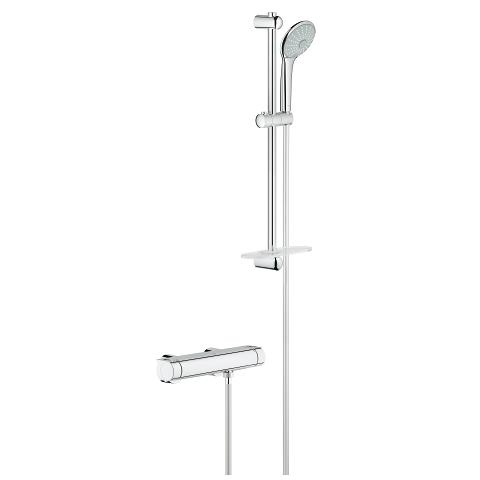 Safety shower mixer 1/2″ with shower set
