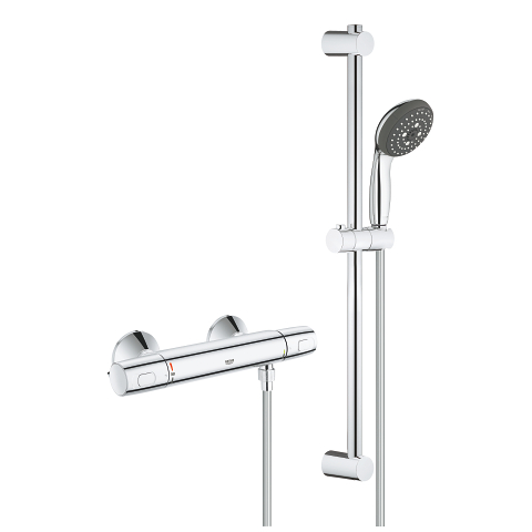 Precision Trend Thermostatic shower set 1/2″
