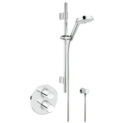 Grohtherm 3000 Cosmopolitan Thermostatic shower mixer 1/2″