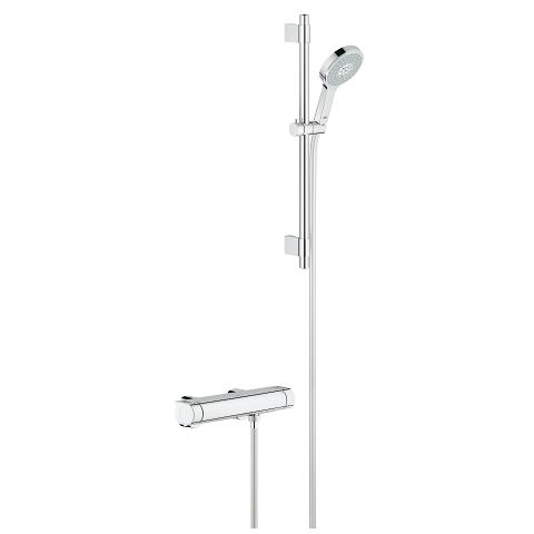 Grohtherm 2000 Thermostatic shower mixer 1/2″ with shower set