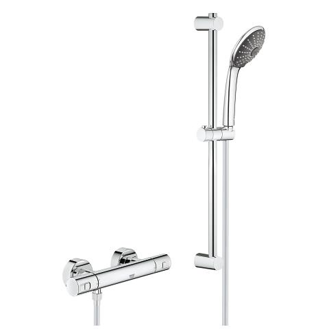 Ensemble de douche thermostatique